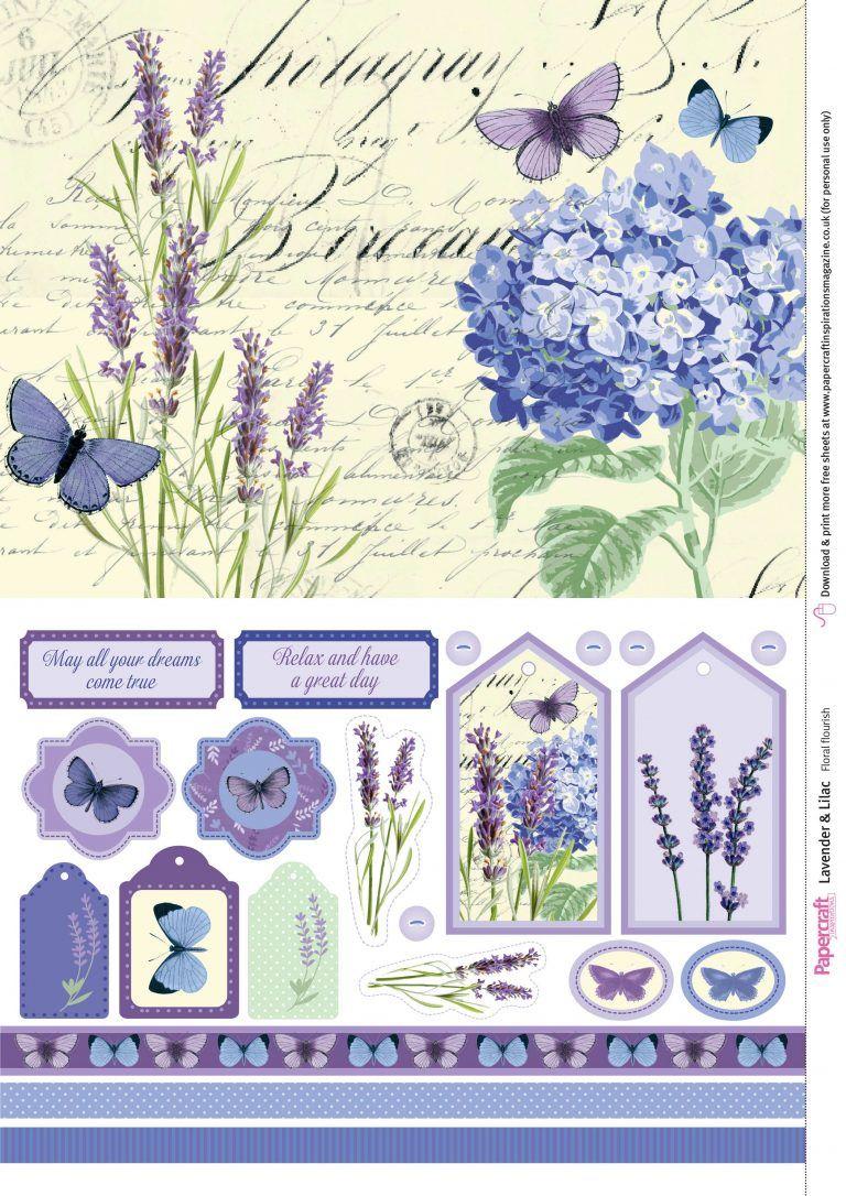 Scrapbook Digital Purple Flowers Violets Digital Papers Blank Lined Journal Pages Digital Violet Collage Sheets Basic Junk Journal Kit