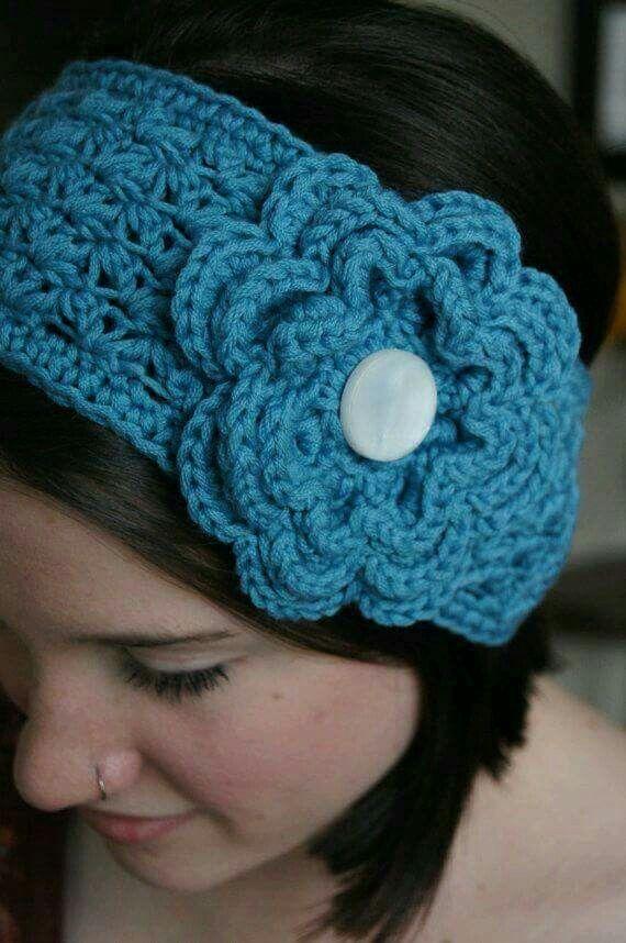 Handband | crochet | Pinterest