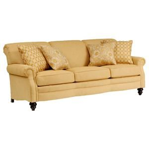 383 Customizable Upholstered Sofa By Smith Brothers   Wolf Furniture   Sofa