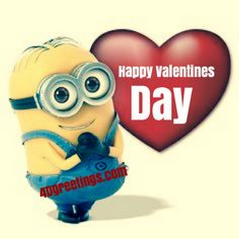 Fesselnd Happy Valentineu0027s Day Minions Pictures Of The Hour (10:18:17 PM,