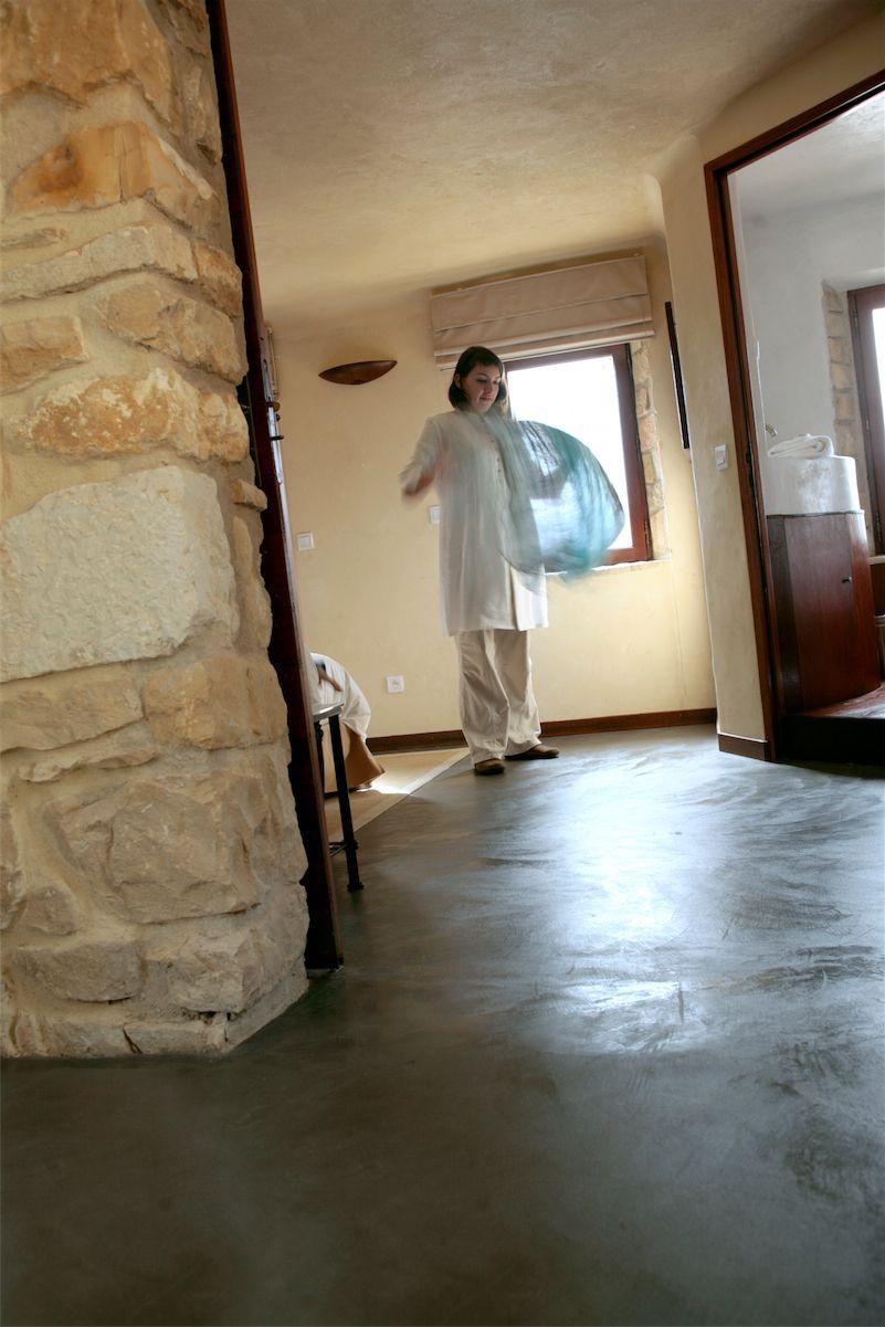suelo cemento pulido taupe - Suelo Cemento Pulido