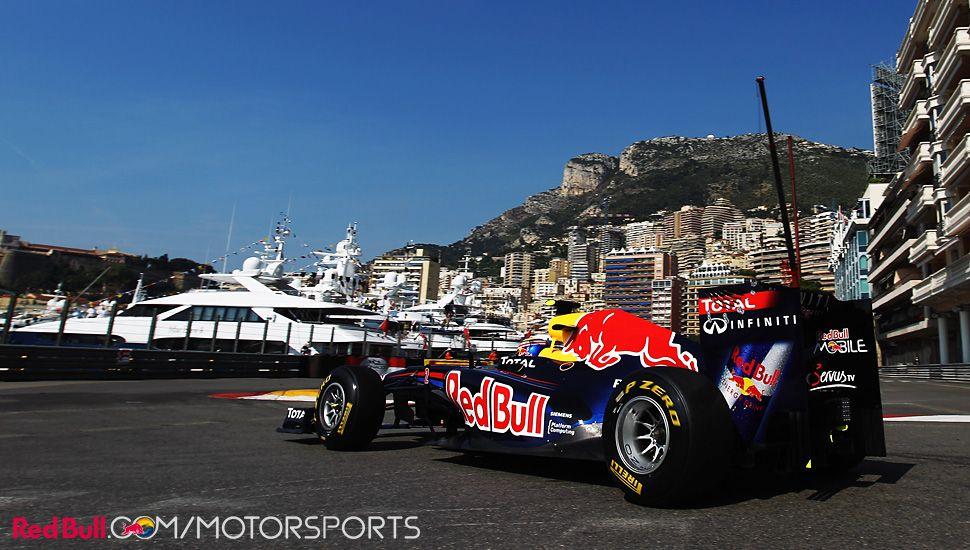 Mark Webber in Monaco