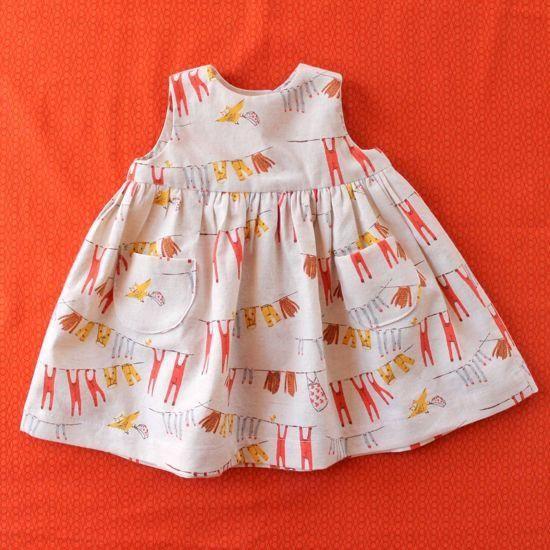 Little Geranium Dress   Made by Rae