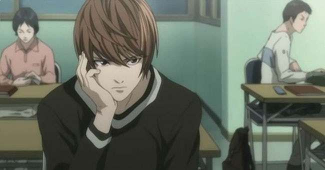 The Smartest Anime Characters Of All Time Anime Death Note