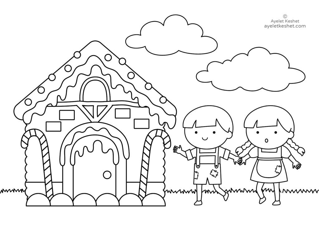 Coloring Pages About Fairy Tales For Kids Coloring Pages Fairy