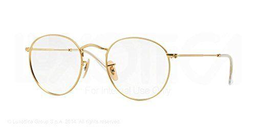 bf0019681200a5 Ray-Ban Round Metal Eyeglasses RX3447V 2730 Matte Gold 50... http