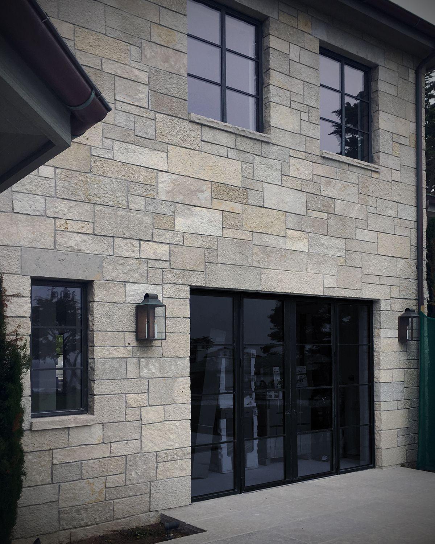 Modern Exterior Stone Home Design Contemporary Patio Stone