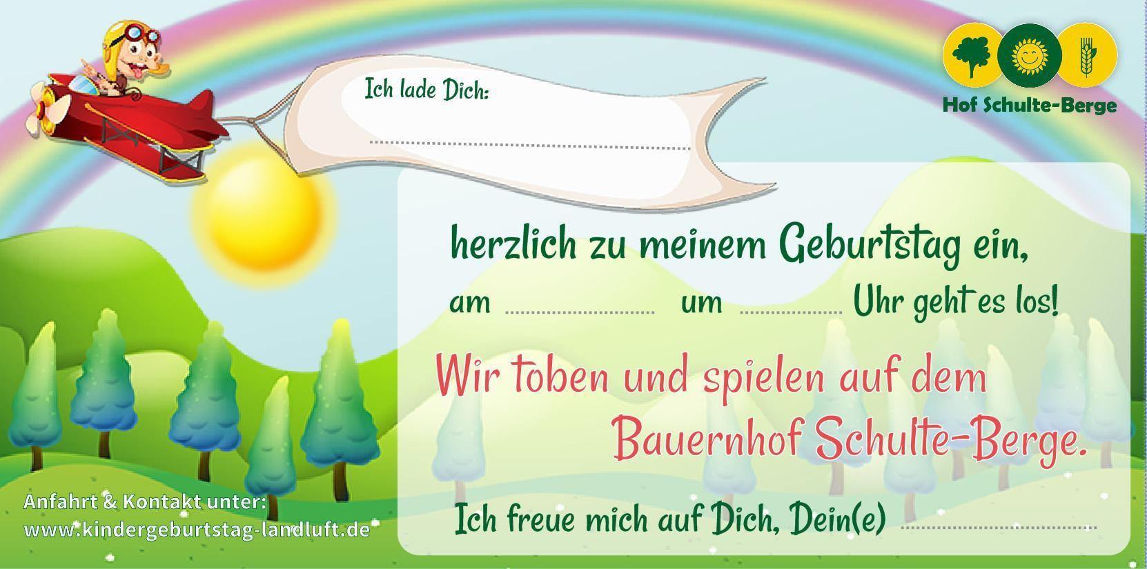 einladungskarten kindergeburtstag ausdrucken mädchen | einladungen, Einladung