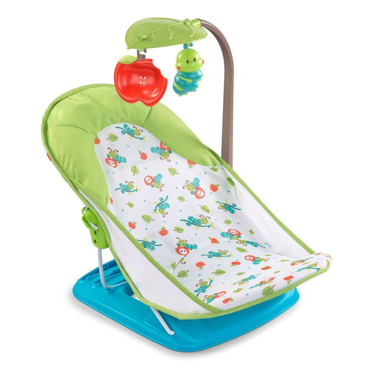 Summer Infant Deluxe Baby Bather Caterpillar With Toy Bar ... | Baby ...