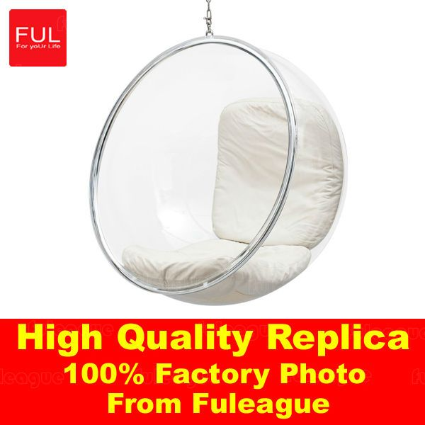 acrylic hanging bubble chair indoor hanging chair fga002