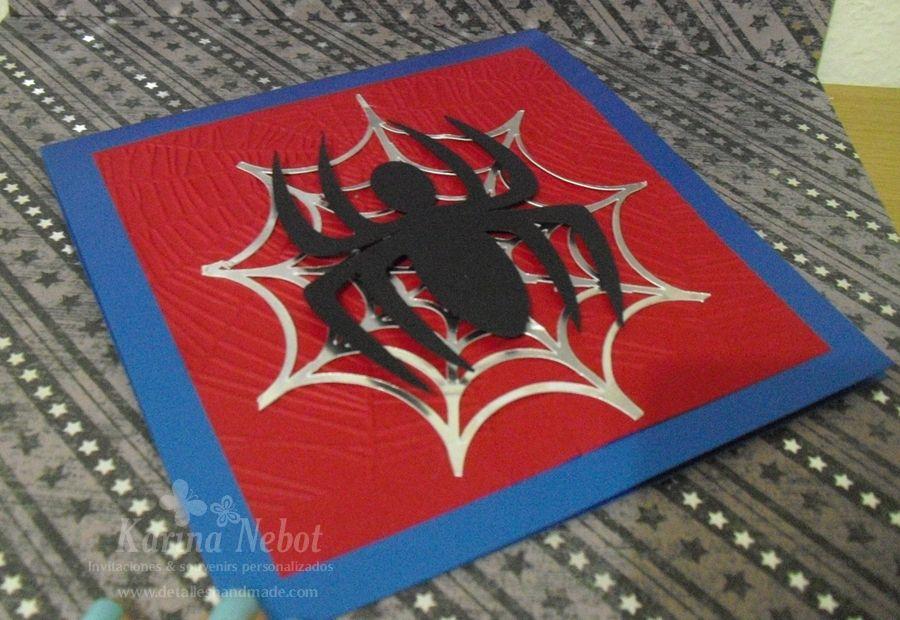 Invitaciones De Cumpleaños De Spiderman Para Regalar 9 En Hd