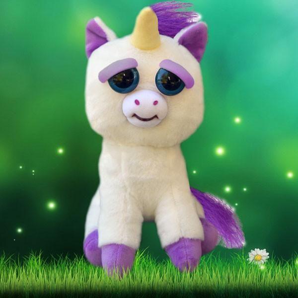 Feisty Pets Glenda Glitterpoop Unicorn Character Pets Pikachu