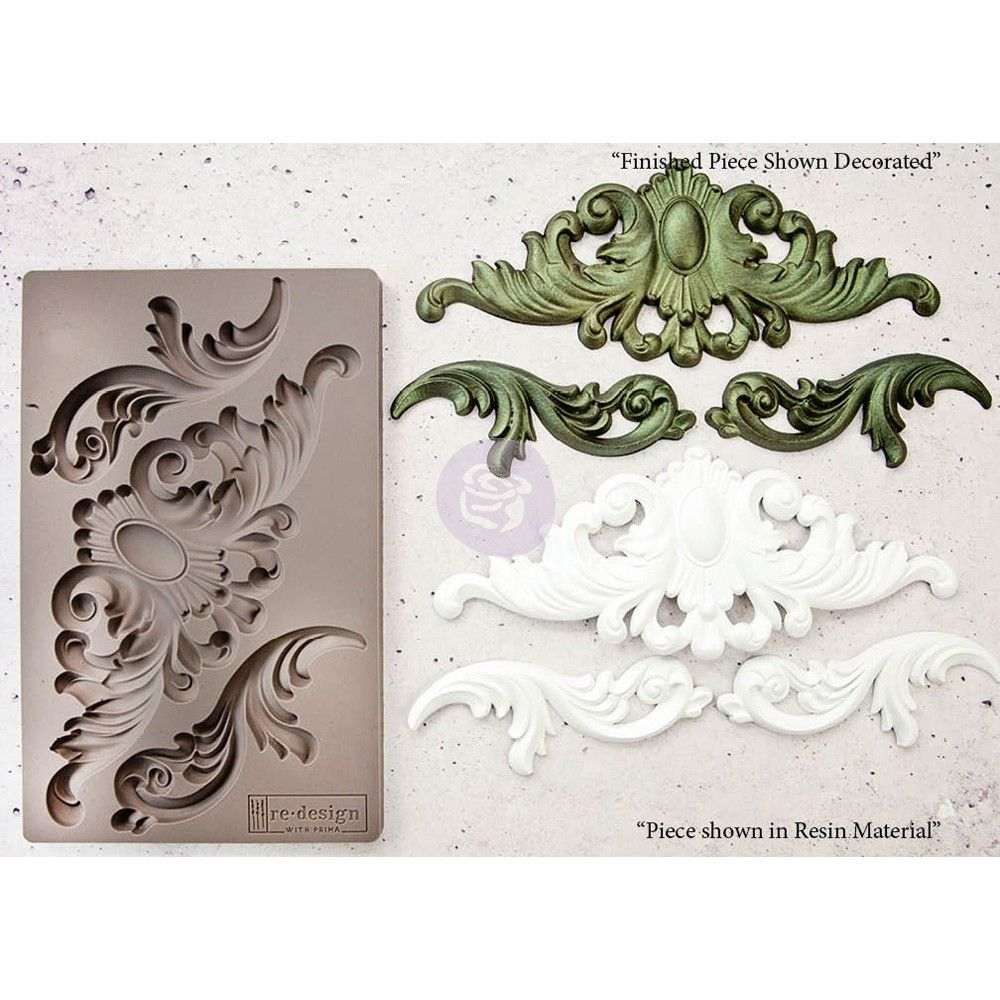 Prima Re-Design Decor Mould-Everleigh Flourish