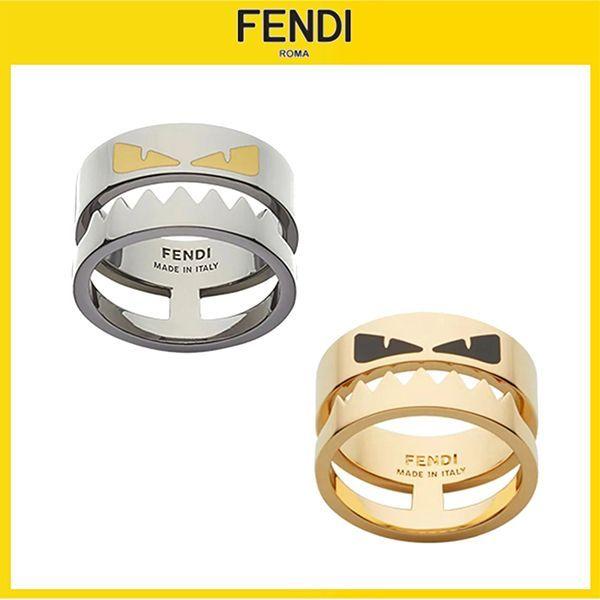 送料関税込み FENDI BAG BUGS モンスター リング2カラー 9100708 送料関税込み FENDI BAG BUGS モンスター リング2カラー 9100708