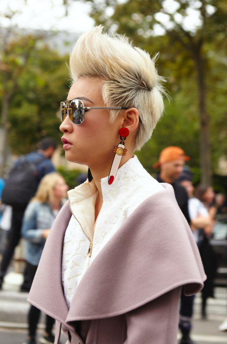 #PFW 30 septembre 2016 - Street Style Coiffure