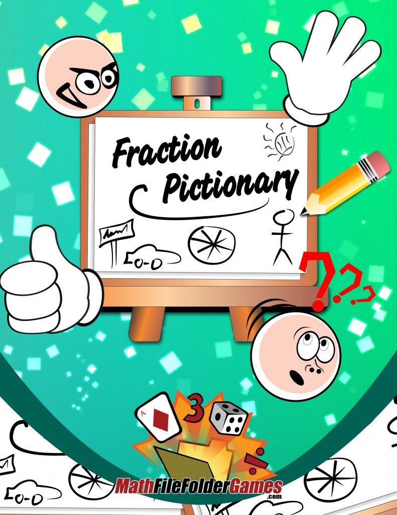 Fraction Pictionary | Maths, Gaming and School