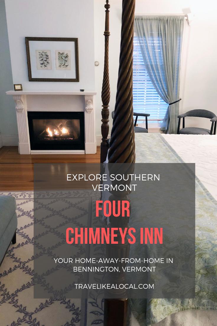 Four Chimneys Inn, Bennington, Vermont Bennington