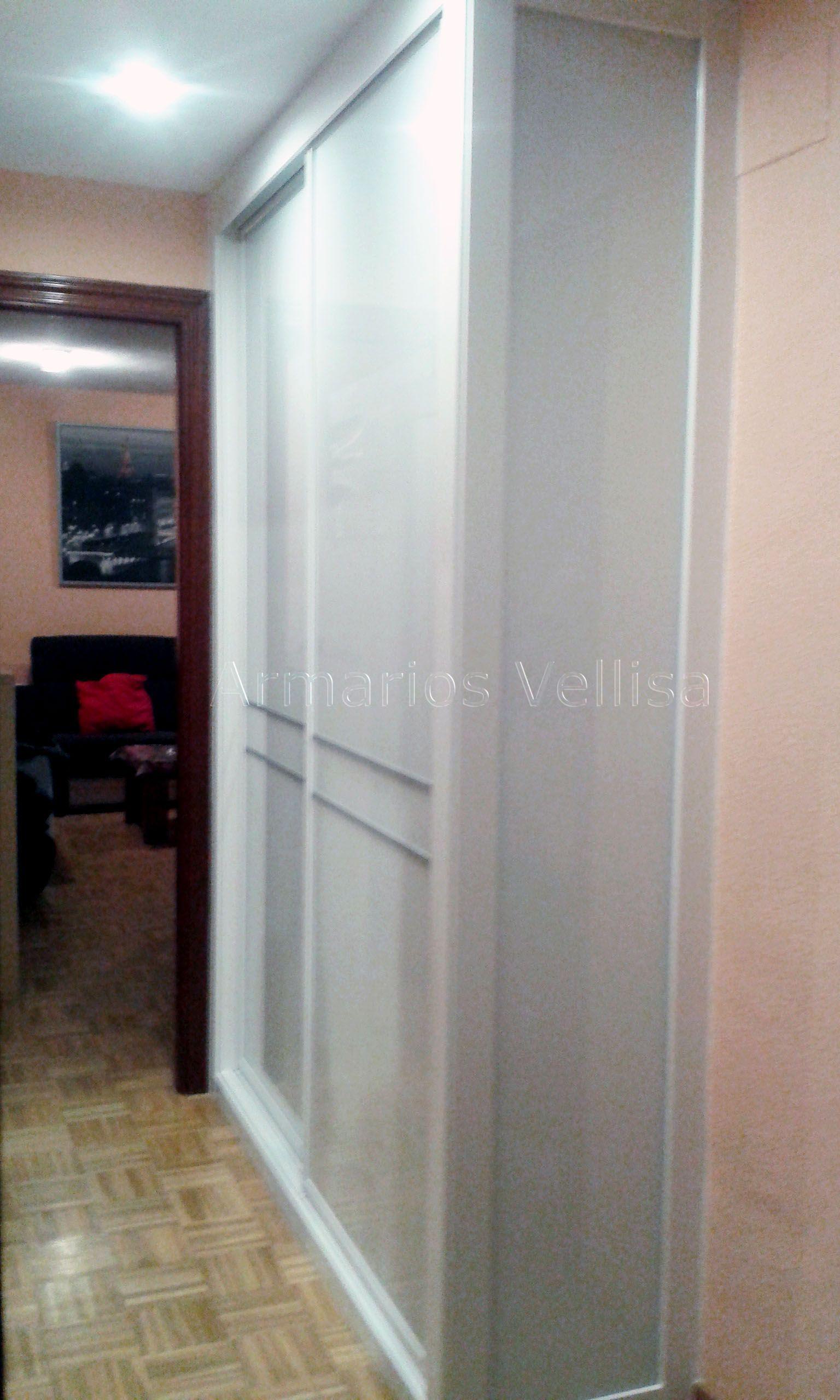 armario de pared con entrada equipada armario empotrado en pasillo entrada vivienda 235 x 170 x