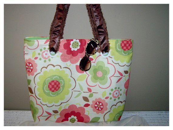 Large Tote Bag / Beach Tote Bag / Gym Bag on Etsy, $30.00