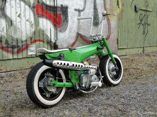 Honda Trail 70 Chalopy: Green 'n Clean Dax