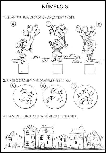 Atividades Com Numeros 0 A 9 With Images Matematyka