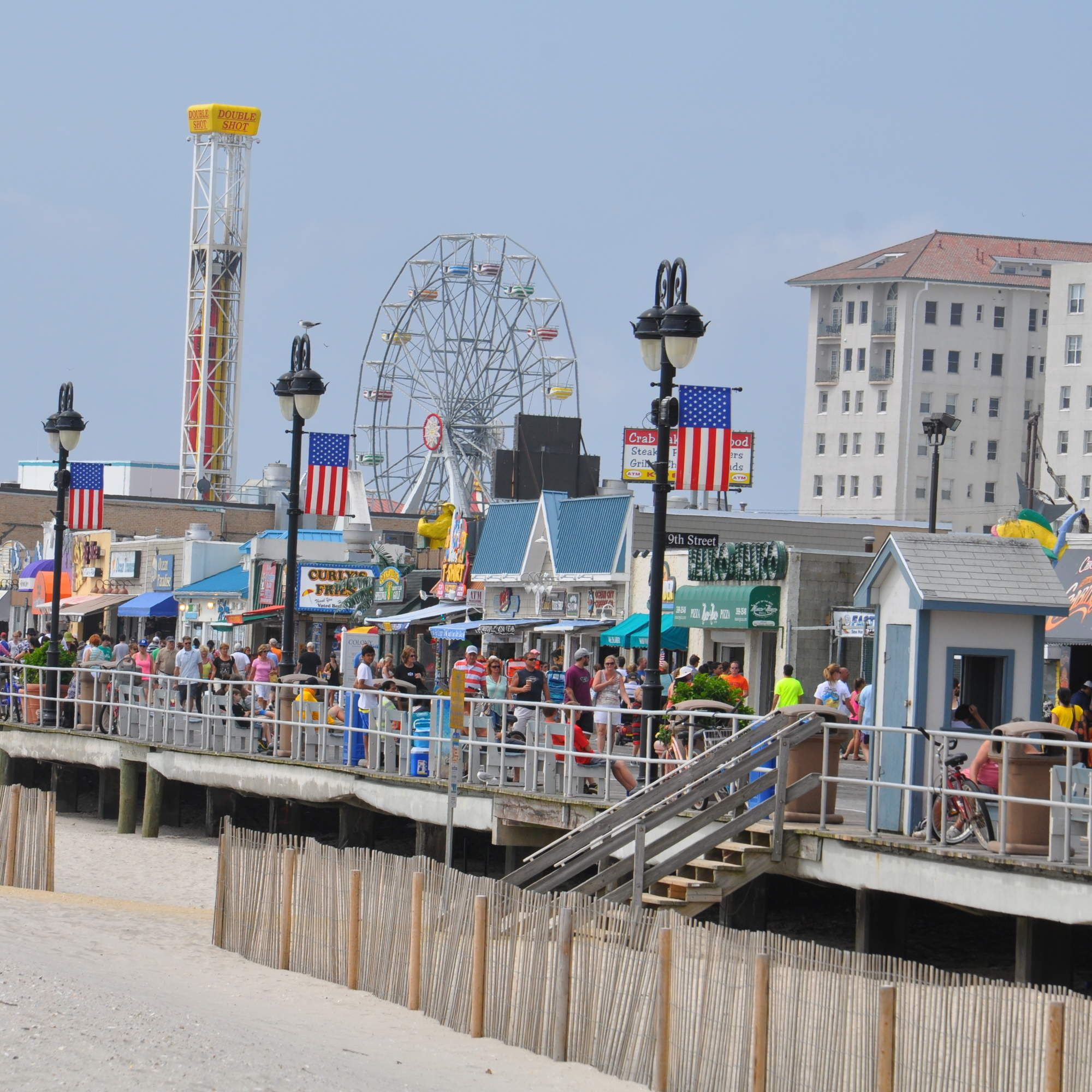 every major jersey shore beach town ranked travels new jersey rh pinterest com