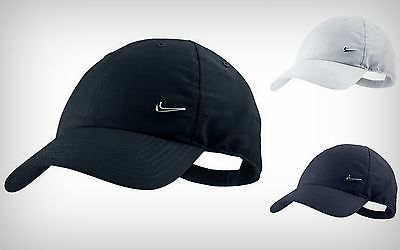 3c623f876a440 official nike mens  metal  swoosh logo cap  baseball hat golf original