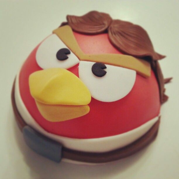 Angry birds star wars cake by Hope Cookies & Cupcakes