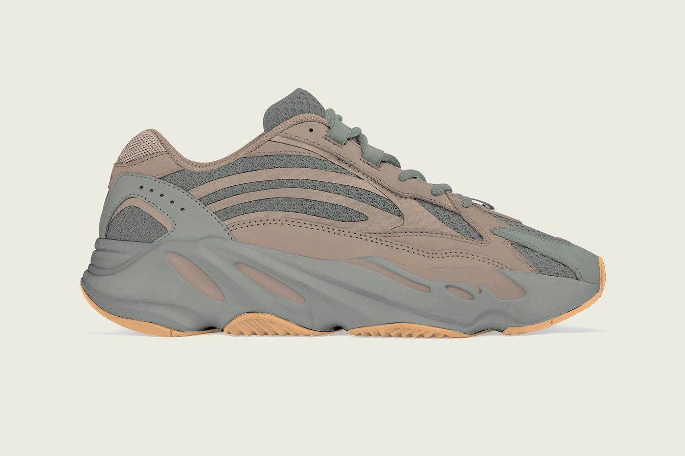 e9b9e75f28b05 adidas YEEZY BOOST 700 V2 Geode Release Info Date New 2019 Colorway grey  beige brown gum sole