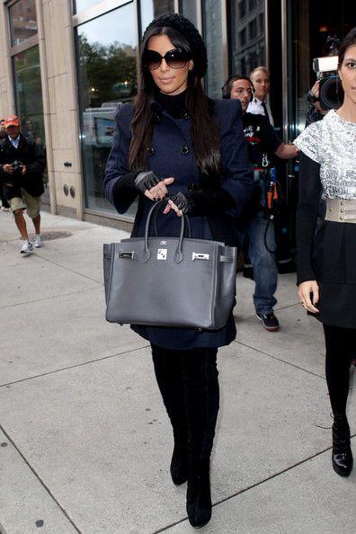 Kim Kardashian Purses Leather Tote Handbags Stylebistro