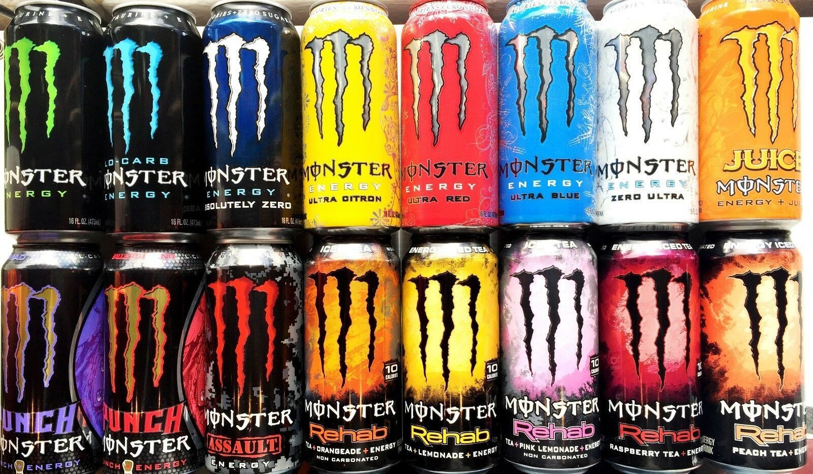 Monster Energy Drink 16fl Oz Pack Of 4 Choose Your Flavor In 2020 Monster Energy Drink Monster Energy Energy Drinks Facts