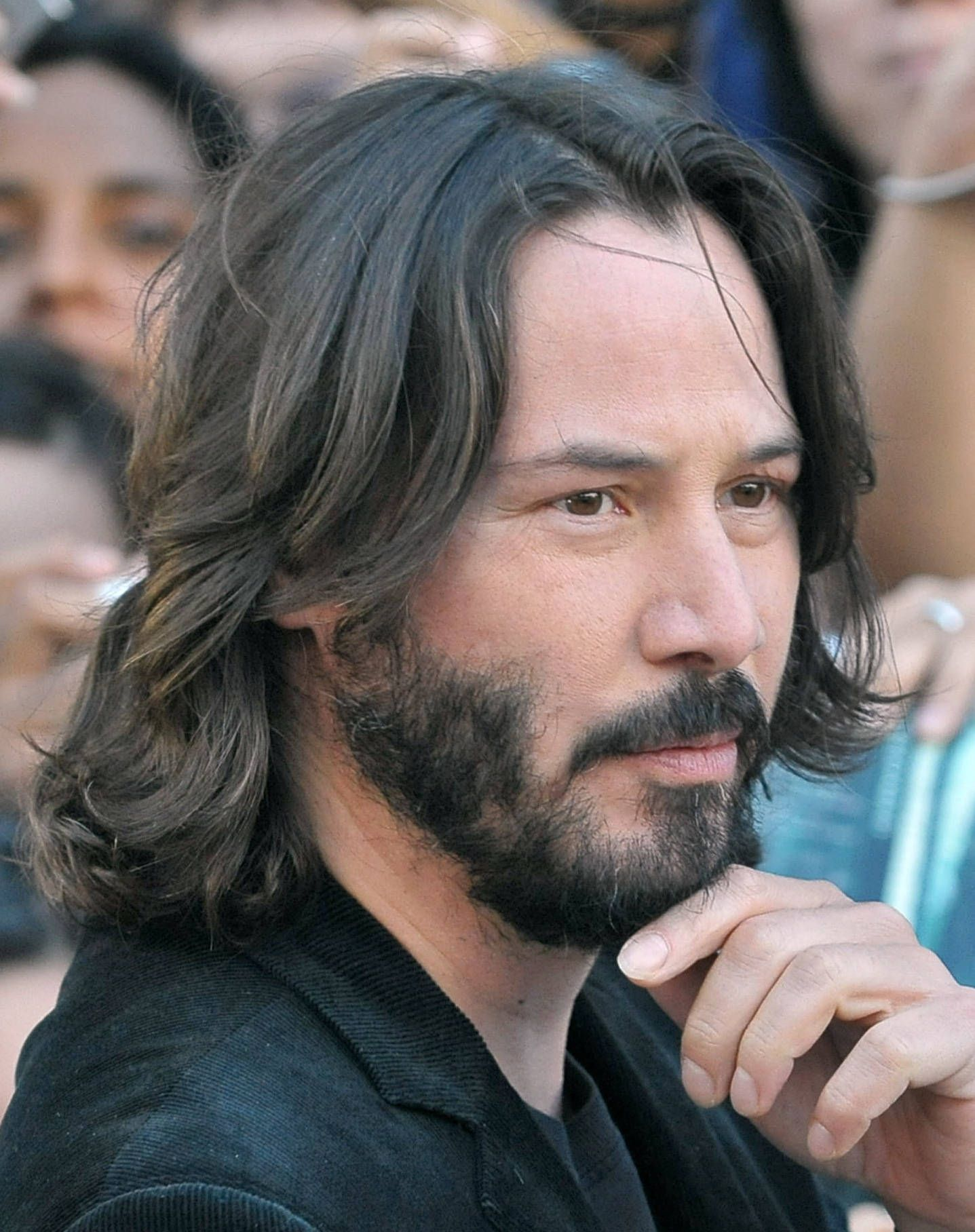 100-best-mens-long-haircut-keanu-reeves | long hair styles