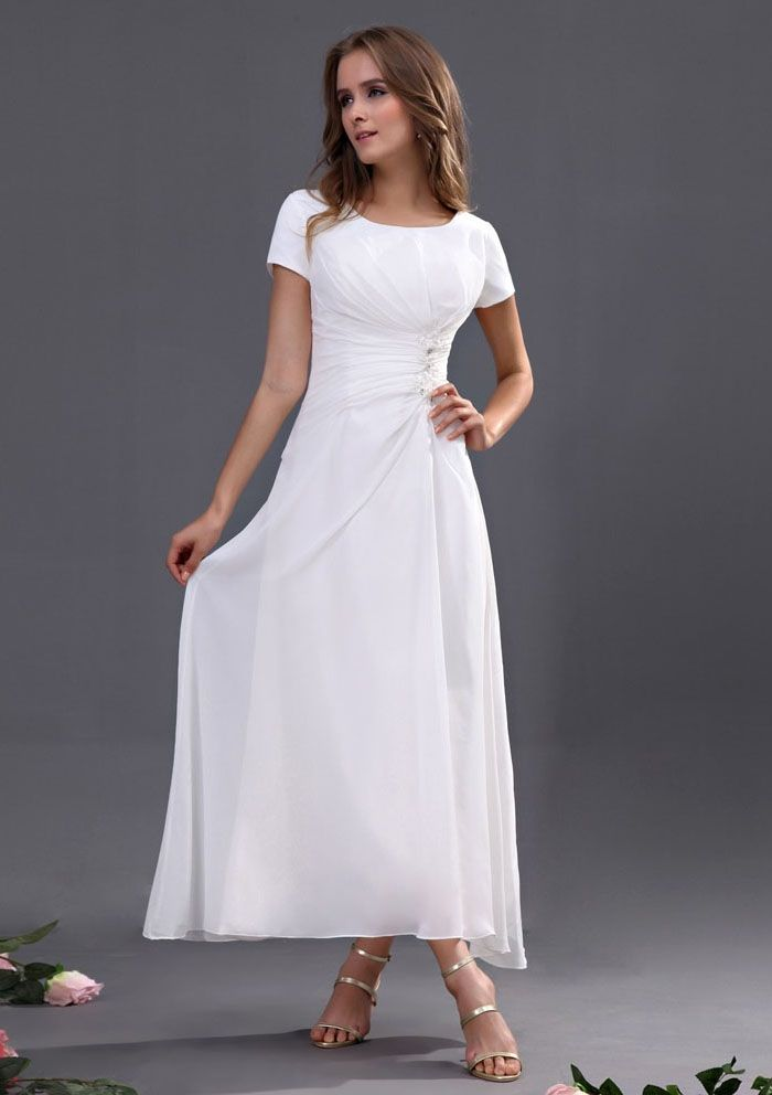 Casual Floor Length Mother of the Bride Dresses
