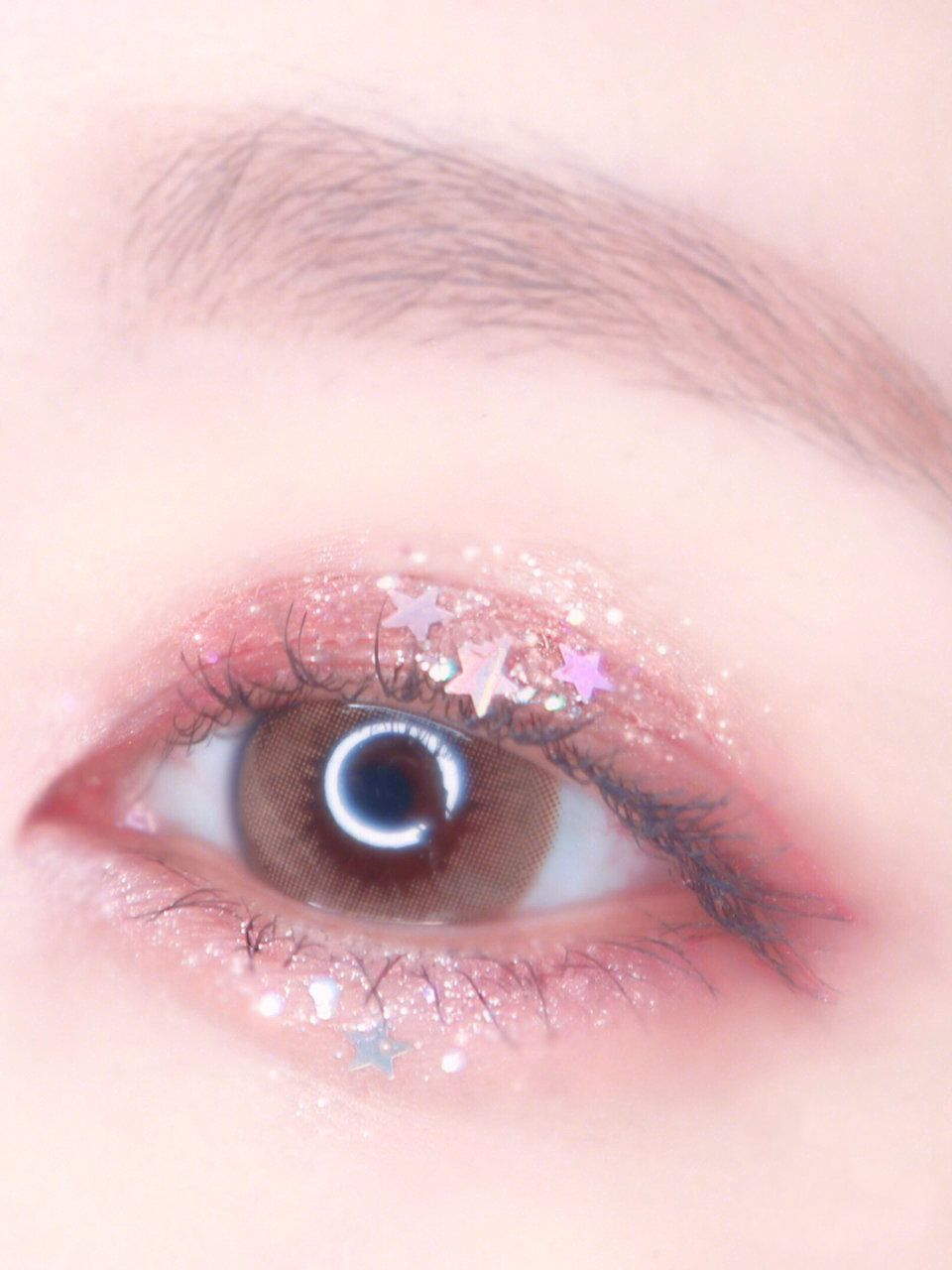 Stardust Glitter Makeup Kamakula Glitter Makeup Looks Korean Eye Makeup Asian Eye Makeup