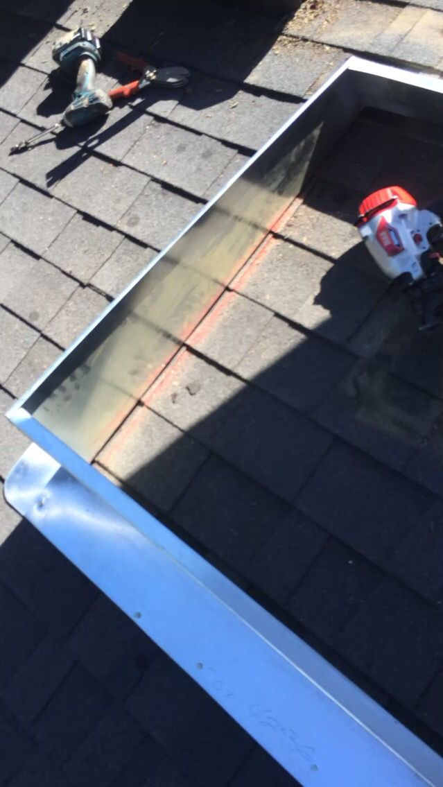 Condenser Curb Installation On Roof Roofing Installation Roof
