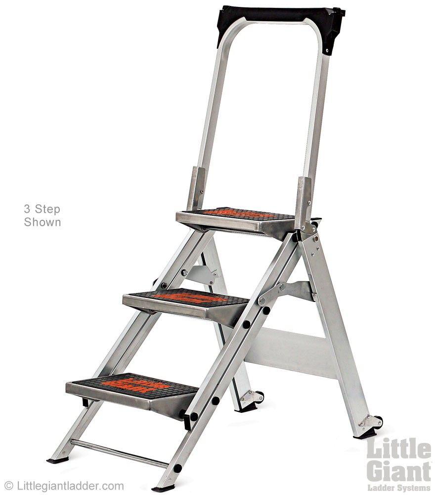 Safety Step Stepladder Type 1a Little Giants Ladder