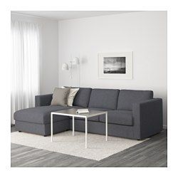 Exceptionnel VIMLE Sofa, With Chaise, Gunnared Medium Gray   With Chaise/Gunnared Medium  Gray