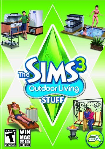 The Sims 3: Outdoor Living Stuff - PC/Mac - #games
