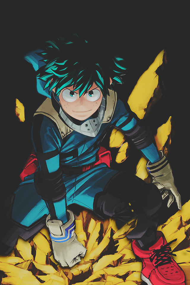 shirah0shi My Hero Academia Phone Wallpaper Izuku