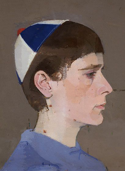 Girl S Head In Profile With Cap On 1963 64 Euan Uglow