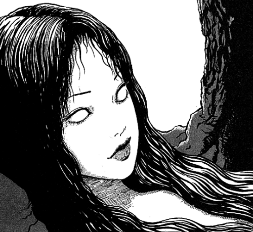 "Junji Ito "" Tomie (1987)"" Japanese horror, Horror art"