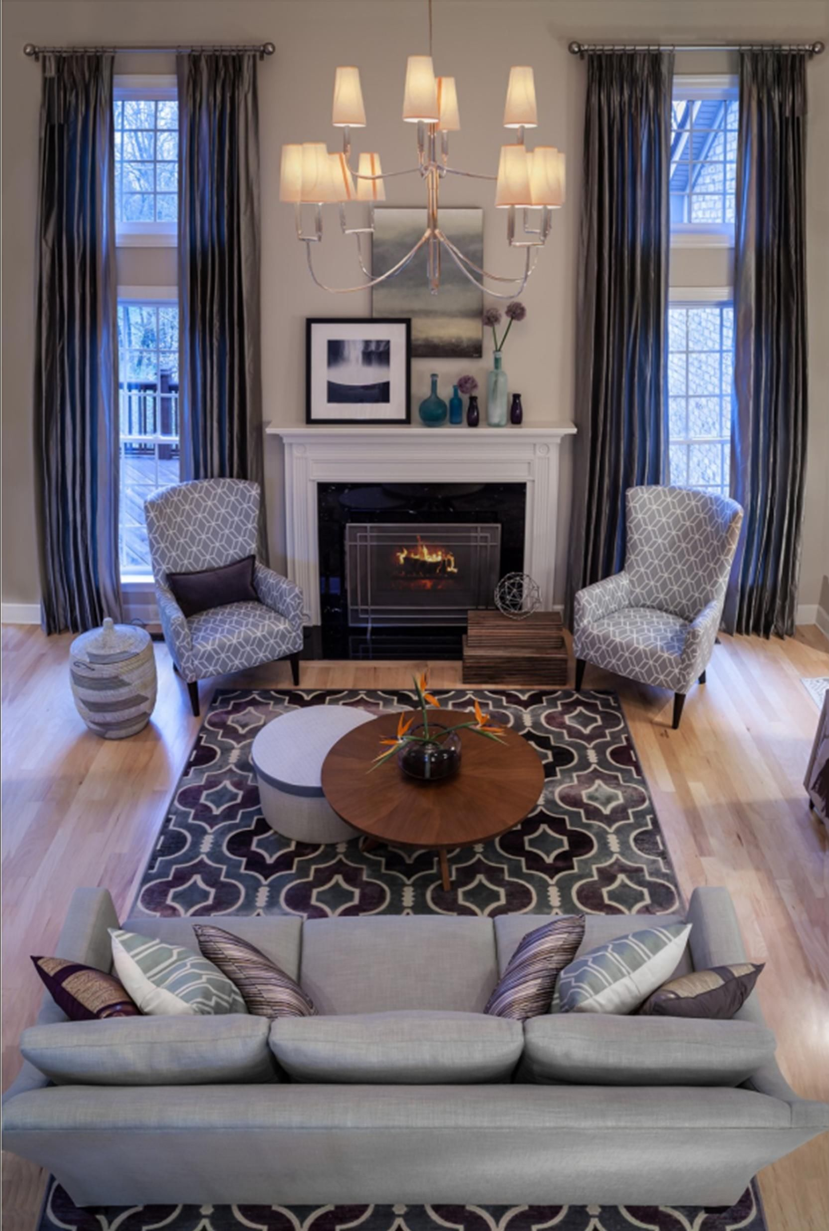 Living Room - Eclectic - Living room - Images by Beckwith Interiors ...