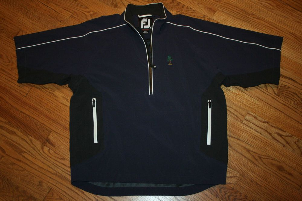 Footjoy Dryjoys Tour Collection Short Sleeve Rain Jacket