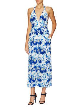 Shelby Print Jumpsuit from Designer Florals on Gilt