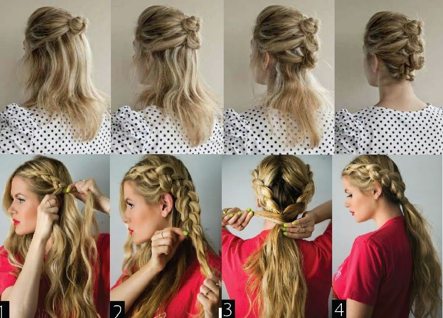 peinados rapidos para jovencitas