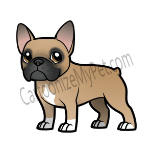 Share Your Creations Online Or Add Them To All Sorts Of Customizable Merchandise Create Unique Per French Bulldog Cartoon Bulldog Cartoon French Bulldog Art