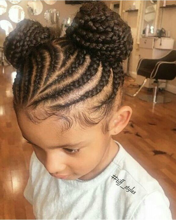 Pin By Beauty On French Braids Black Kids Hairstyles Kids Hairstyles Natural Hair Styles