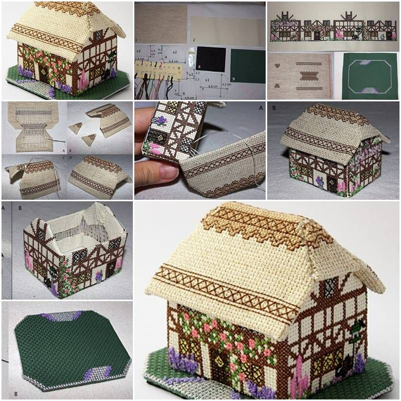 How to make decorative fabric house step by step diy tutorial how to make decorative fabric house step by step diy tutorial instructions how to solutioingenieria Images