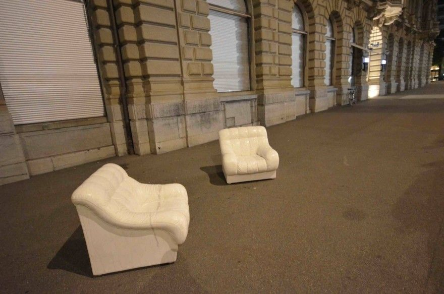 Ai Weiwei Made These Two Uncomfortable Couches From Marble