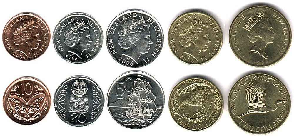 New Zealand Coins Dollar